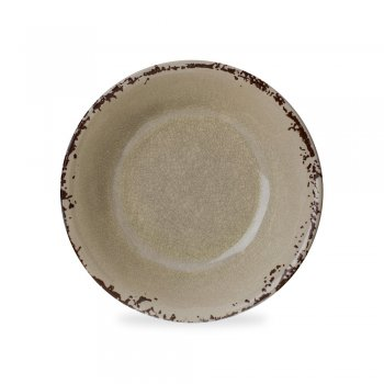 Cream Prato Sobremesa 21 cm
