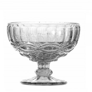 Libélula Transparente Taça Sobremesa 310ml